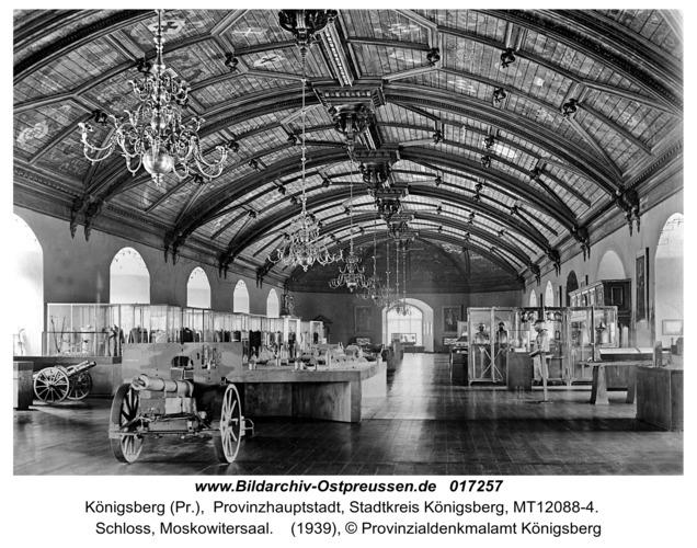 Königsberg, Schloss, Moskowitersaal