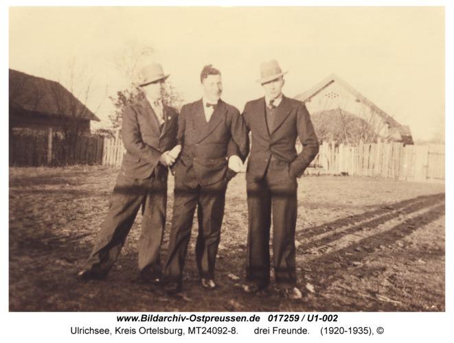 Ulrichsee, drei Freunde