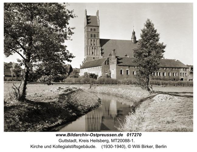 Guttstadt, Kirche und Kollegialstiftsgebäude