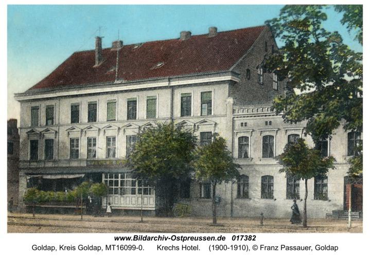 Goldap, Krechs Hotel