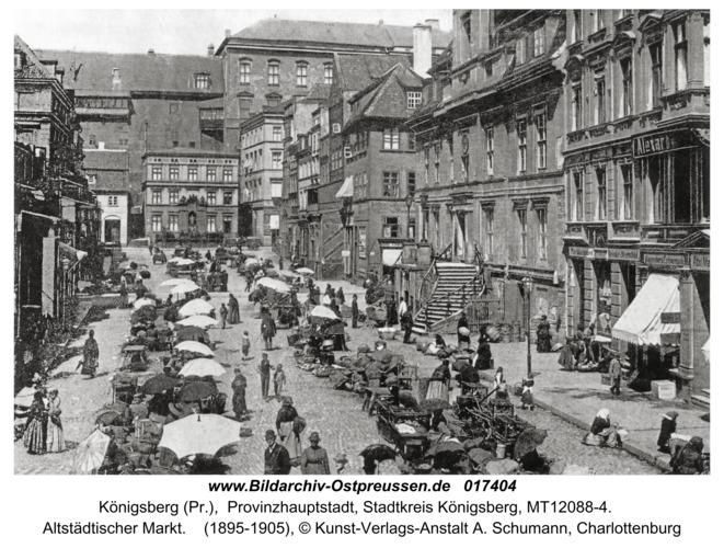 Königsberg, Altstädtischer Markt