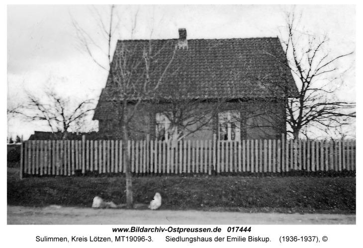 Sulimmen Kr. Lötzen, Siedlungshaus der Emilie Biskup