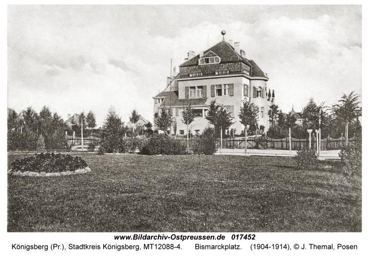 Königsberg, Bismarckplatz