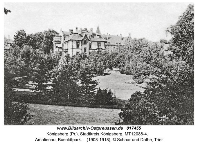Königsberg, Amalienau, Busoldtpark
