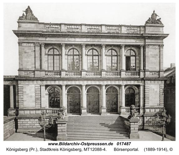 Königsberg, Börsenportal