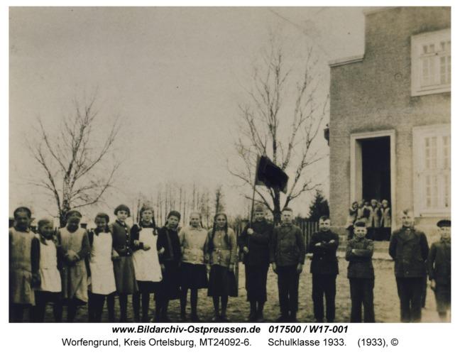 Worfengrund, Schulklasse 1933