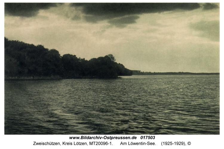 Zweischützen, Am Löwentin-See