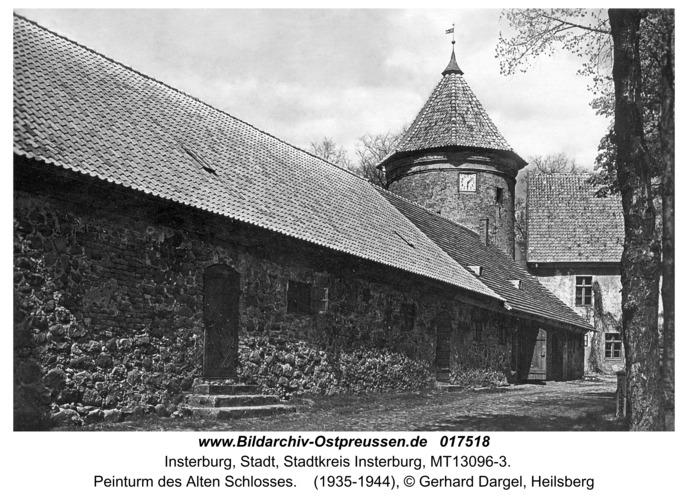 Insterburg, Peinturm des Alten Schlosses