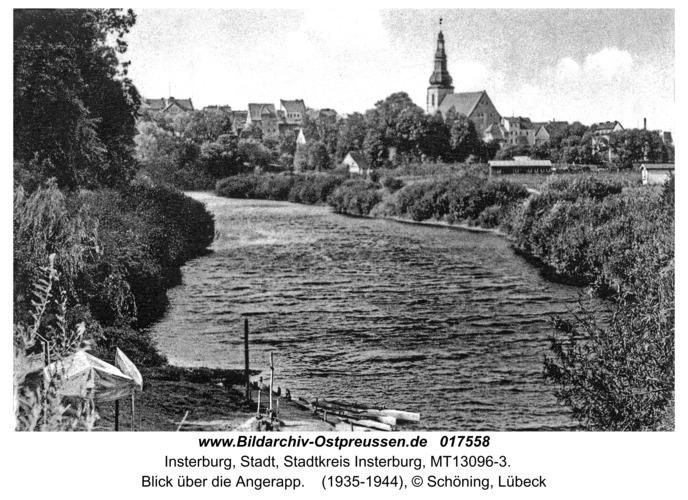 Insterburg, Blick über die Angerapp
