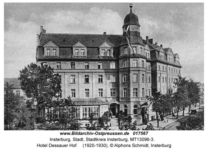 Insterburg, Hotel Dessauer Hof