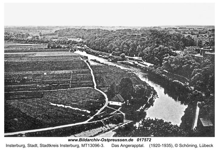 Insterburg, Das Angerapptal