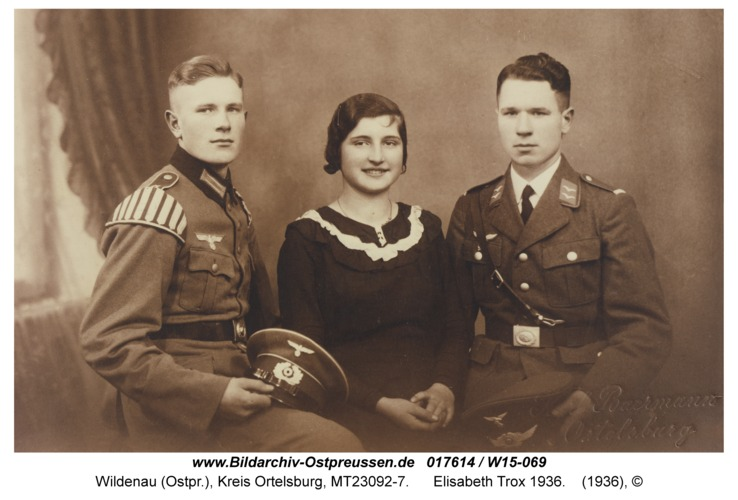 Wildenau, Elisabeth Trox 1936