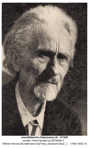 Jonaten, Wilhelm Storost (Künstlername Vydūnas), preußisch-litauischer Lehrer, Dichter, Philosoph, Humanist und Theosoph