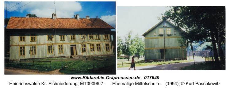 Heinrichswalde, Ehemalige Mittelschule