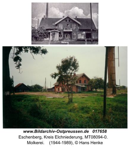 Eschenberg, Molkerei