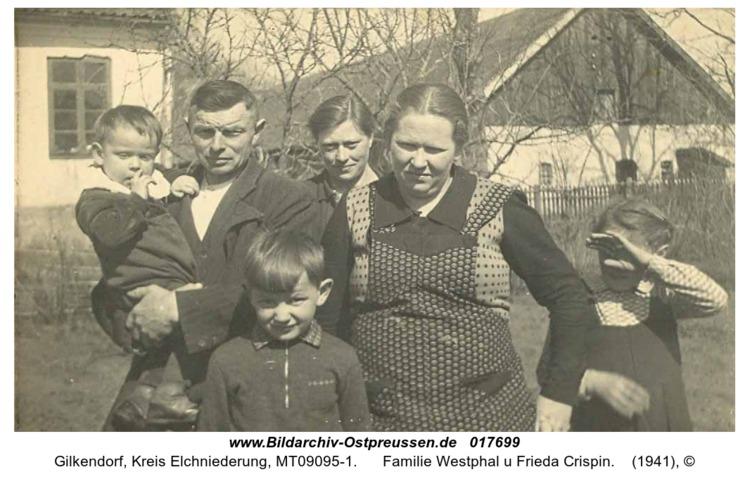 Gilkendorf, Familie Westphal u Frieda Crispin