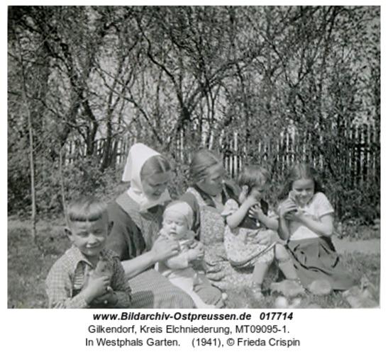 Gilkendorf, In Westphals Garten