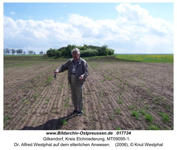 Gilkendorf, Dr. Alfred Westphal auf dem elterlichen Anwesen