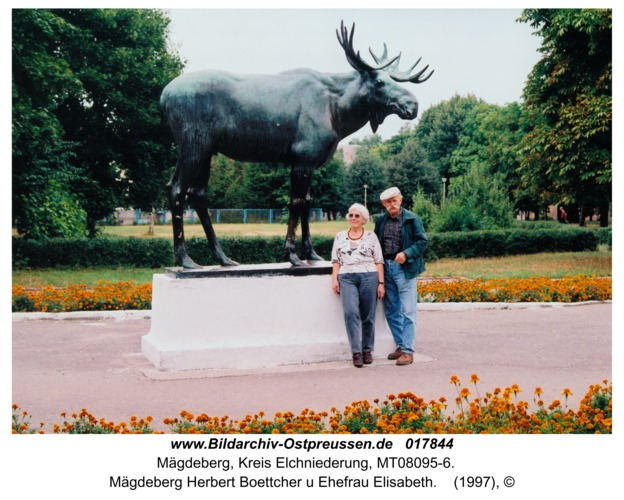 Mägdeberg Herbert Boettcher u Ehefrau Elisabeth