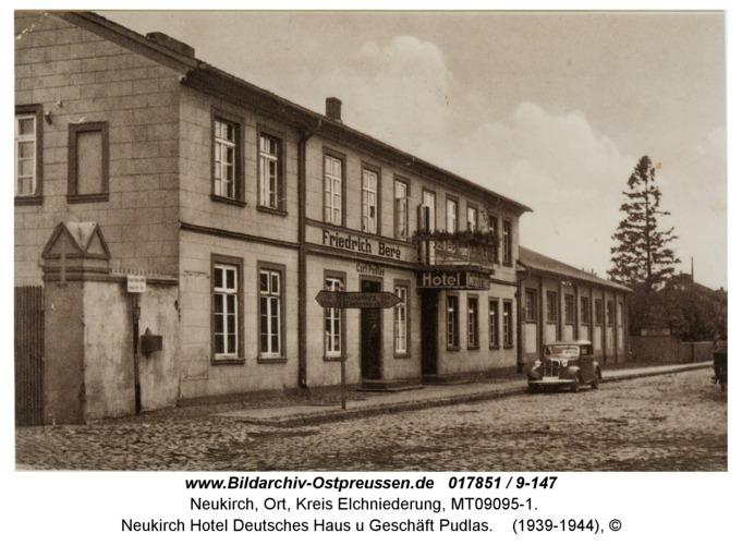 Neukirch Hotel Deutsches Haus u Geschäft Pudlas