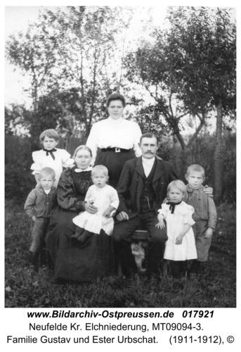Neufelde, Familie Gustav und Ester Urbschat