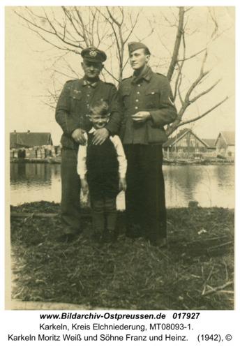 Karkeln Moritz Weiß und Söhne Franz und Heinz