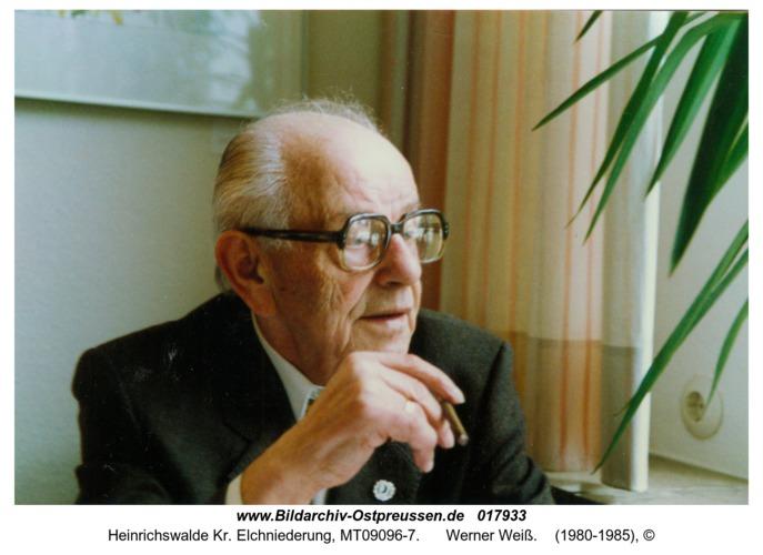 Heinrichswalde, Werner Weiß
