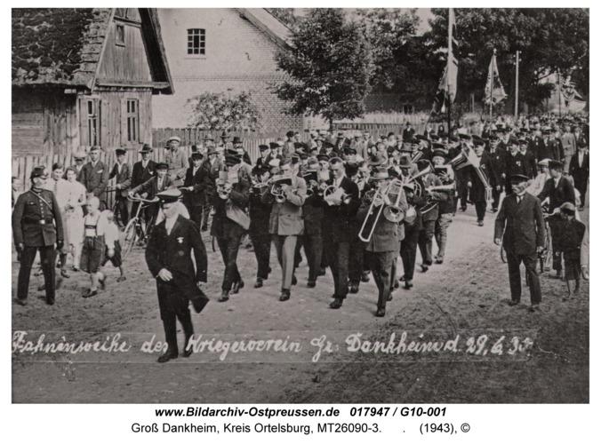 Groß Dankheim, Fahnenweihe 1943