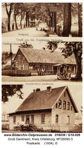 Groß Dankheim, Postkarte