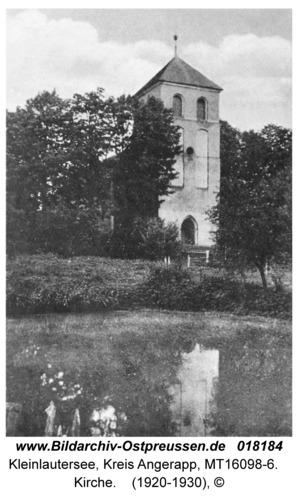 Kleinlautersee Kr.Angerapp vormals Schabienen, Kirche
