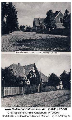 Neuwiesen, Dorfstraße und Gasthaus Robert Reiner