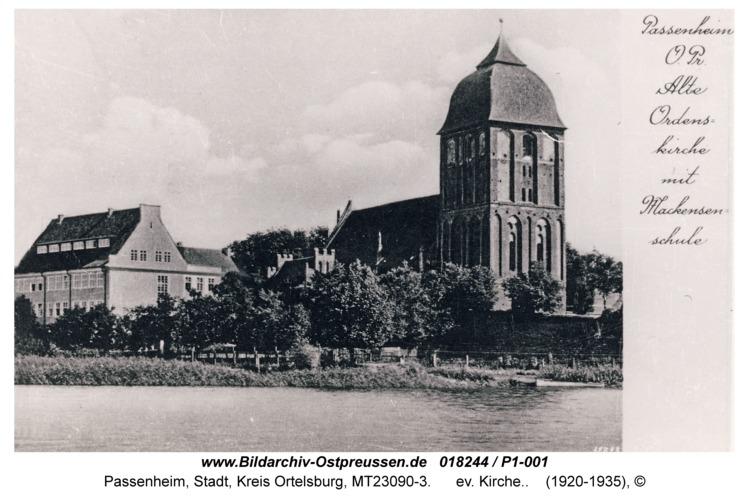 Passenheim, Ev. Kirche