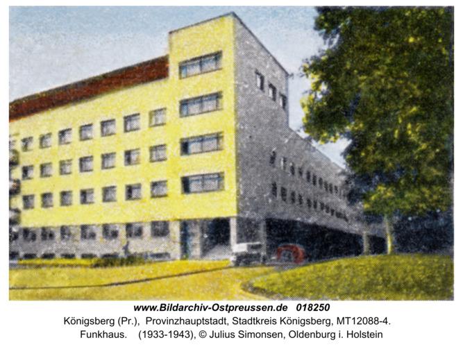 Königsberg, Funkhaus