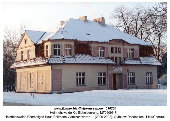 Heinrichswalde Ehemaliges Haus Bellmann-Gemischtwaren