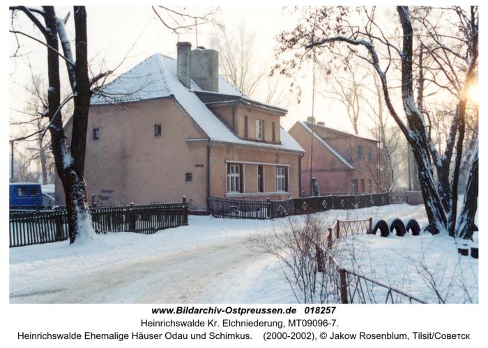 Heinrichswalde Ehemalige Häuser Odau und Schimkus