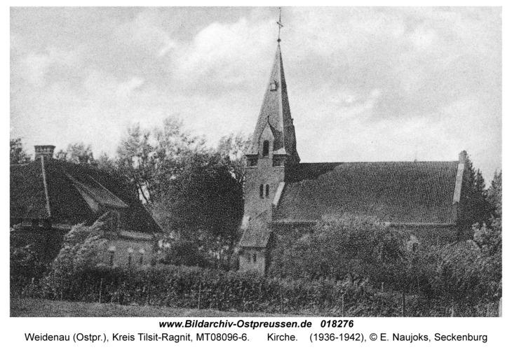 Weidenau, Kirche