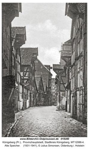 Königsberg, Alte Speicher
