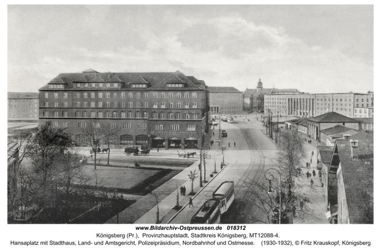 Königsberg, Hansaplatz