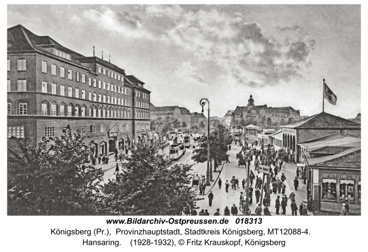 Königsberg, Hansaring