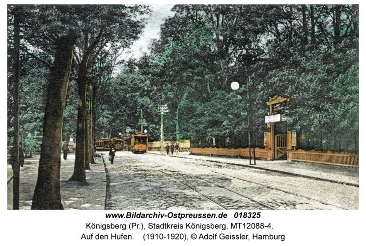 Königsberg, Auf den Hufen
