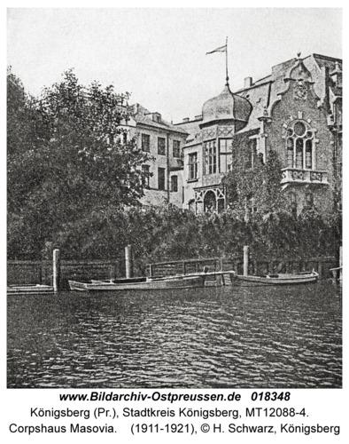 Königsberg, Corpshaus Masovia