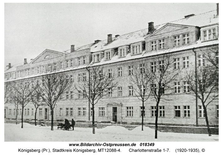 Königsberg, Charlottenstraße 1-7