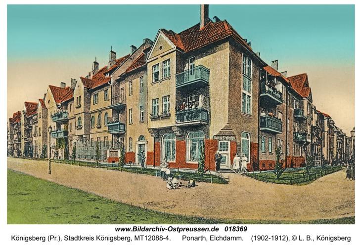 Königsberg, Ponarth, Elchdamm