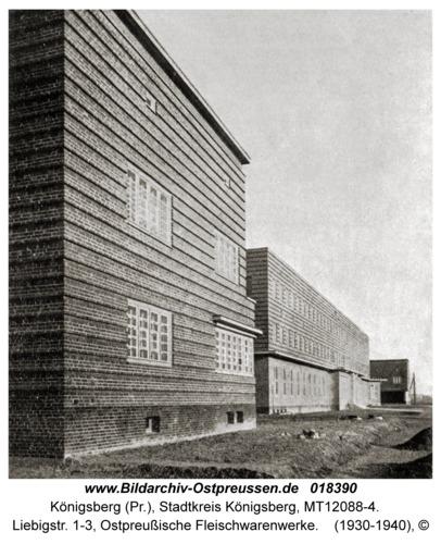 Königsberg, Liebigstr. 1-3, Ostpreußische Fleischwarenwerke