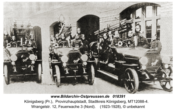 Königsberg, Wrangelstr. 12, Feuerwache Nord