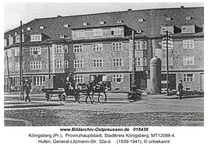 Königsberg, Hufen, General-Litzmann-Str. 32a-d