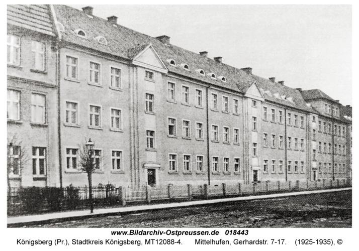 Königsberg, Mittelhufen, Gerhardstr. 7-17