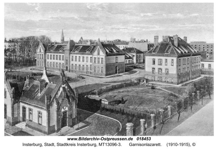 Insterburg, Garnisonlazarett