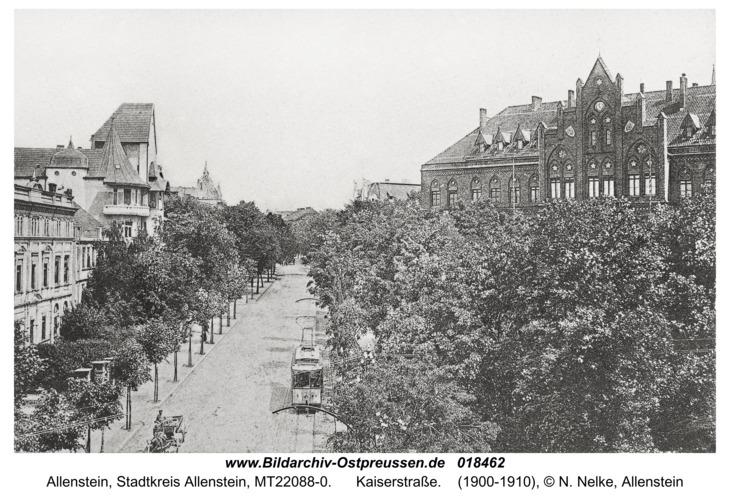 Allenstein, Kaiserstraße