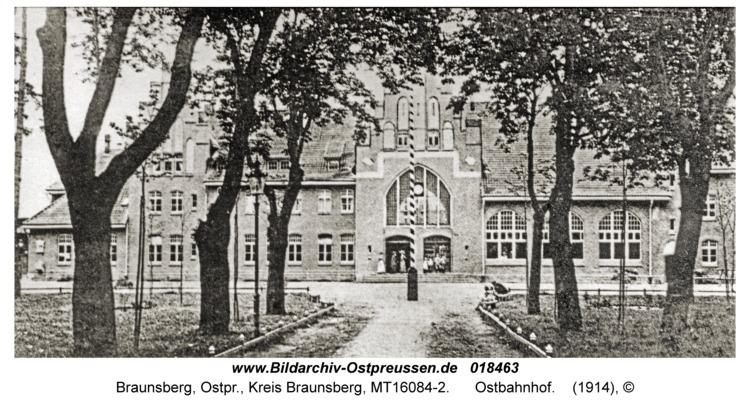 Braunsberg Kr. Braunsberg, Ostbahnhof